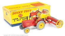 Dinky No.310 Farm Tractor and Hay Rake Set