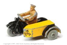Dinky No.272 ANWB Motorcycle Patrol - scarce