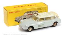 French Dinky No.556 Citroen ID19 Ambulance