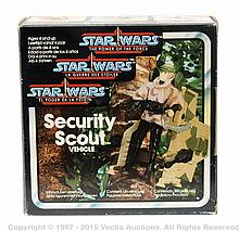 Kenner Star Wars Power of the Force Security
