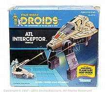 Kenner Star Wars Droids vintage ATL Interceptor