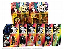GRP inc Star Wars and Austin Powers figures