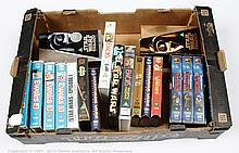 Star Wars VHS videos; Good to Excellent; (qty)