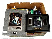 QTY inc Star Wars collectables and ephemera