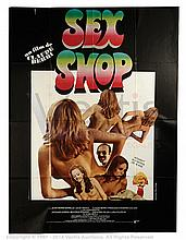 SEX SHOP (1984) Film Poster. French One Panel