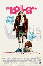 LOLA (1971) Film Poster. US One Sheet; Plus