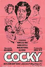 COCKY (Adult) Film Posters. UK Double Crowns