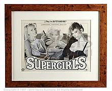 CONCEPT ARTWORK for SUPERGIRLS (c.1970s) UK