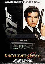 JAMES BOND Advertising Tie-in Film Posters (8)