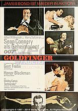 GOLDFINGER (1964) Film Poster. German A1