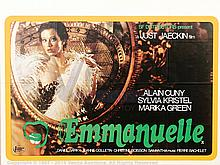 EMMANUELLE (1974) Film Poster. UK Quad, SS