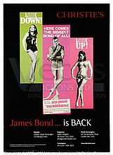 CHRISTIEíS JAMES BOND AUCTION (2001) Advertising