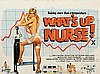 WHATíS UP NURSE! (1978) Film Poster. UK Quad