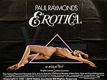 EROTICA (1981) Film Poster. UK Quad, SS, Folded