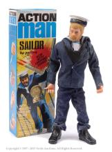 Palitoy Action Man boxed Sailor H.M.S Ark Royal