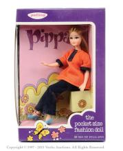 Palitoy Pippa Doll - orange top and blue