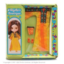 Palitoy Blythe doll boxed Golden Goddess outfit