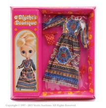 Palitoy Blythe doll boxed Pretty Paisley outfit