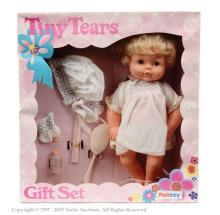 Palitoy Tiny Tears Doll. Some marks to dress