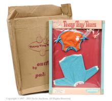 Palitoy Teeny Tiny Tears Doll carded Playtime