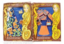 PAIR inc Palitoy Bradgate Silky Doll carded
