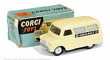 Corgi No.412 Bedford Utilecon Ambulance - cream