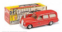 Tekno No.732 Mercedes Benz Ambulance - red, A9