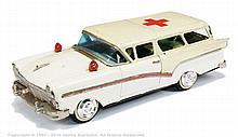 Bandai Ford Fairlane Ambulance - white, green