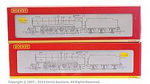 Hornby (China) OO Gauge 2 x Steam Outline locos