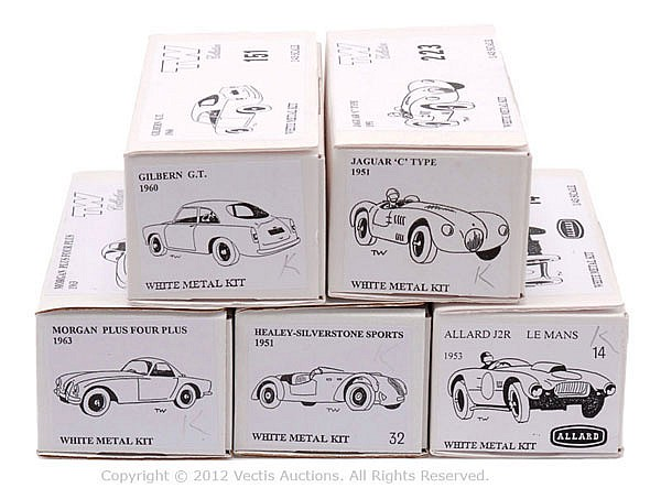GRP inc TW Collection White Metal Car Kit