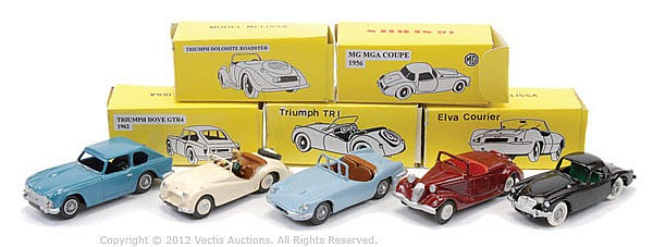GRP inc TW Collection White Metal Car - No.21