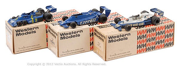 GRP inc Western Models Tyrrell F1 Car - No.18