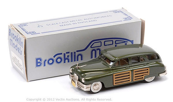 Brooklyn No.43X 1948 Packard Station Wagon 5th