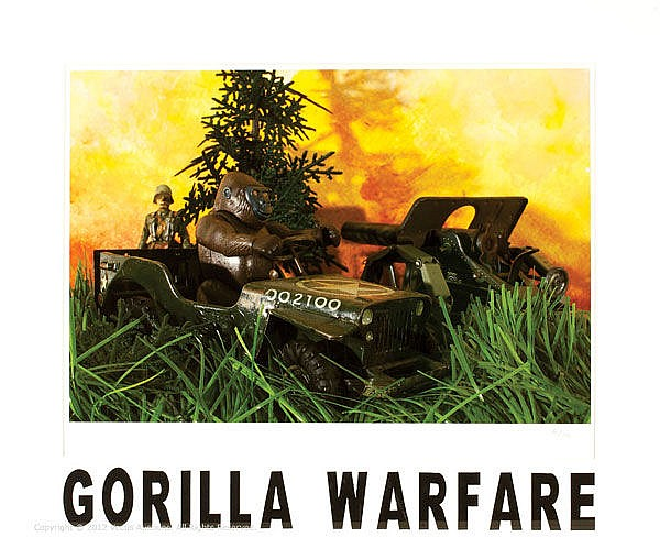 Gorilla Warfare by TSunarti Limited Edition