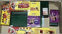 GRP inc Corgi boxed Circus No.35202 Daimler Bus