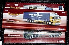 GRP inc Corgi boxed Truck in 1/50th scale