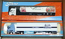 PAIR inc Tekno boxed Truck 1/50th scale. Volvo