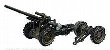 Marklin No.8021/54 Pre War Howitzer - dark olive