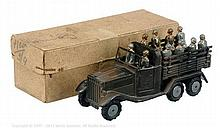 Marklin No.8021/14G Pre War Krupp Troop Wagon