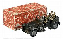Marklin 8021/11G Pre War Army Staff Car - dark