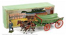 Britains - Set 5F - Farm Wagon, (Post War