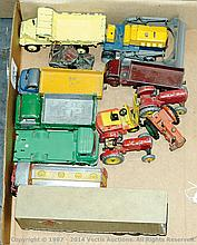 GRP inc Dinky assorted Commercials and Tractors
