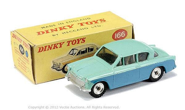 Dinky No.166 Sunbeam Rapier - light turquoise