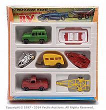 Tootsietoy Recreational Vehicles plastic set