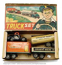 Alps Truck Set friction exclusive dairies cab