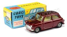 Corgi No.226 Morris Mini Minor - metallic