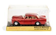 Dinky No.127 Rolls Royce Silver Cloud - red