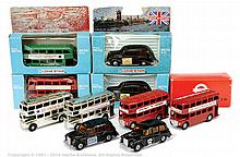 GRP inc Lone Star Routemasters Bus & Taxi - red