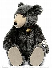 Steiff Grey Watch Teddy 1992, white tag 606304