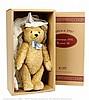 Steiff Teddy Bear 1951 Blond replica, white tag